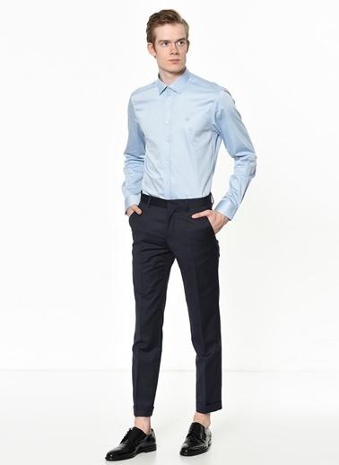 Beymen Business Klasik Uzun Kollu Gömlek Mavi